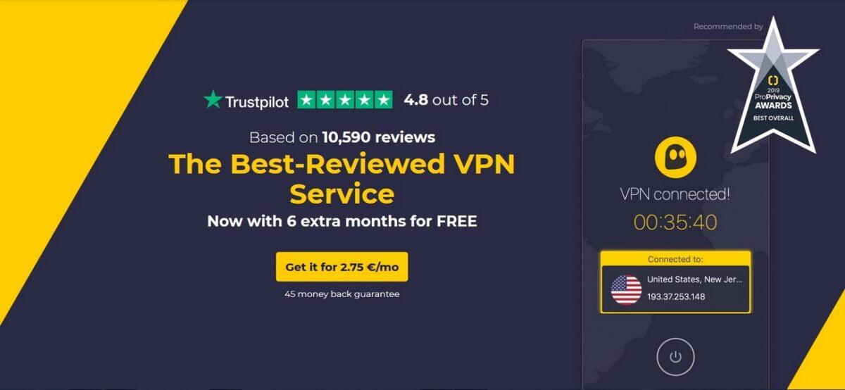CyberGhost VPN - Anmeldelse og guide til din online sikkerhed
